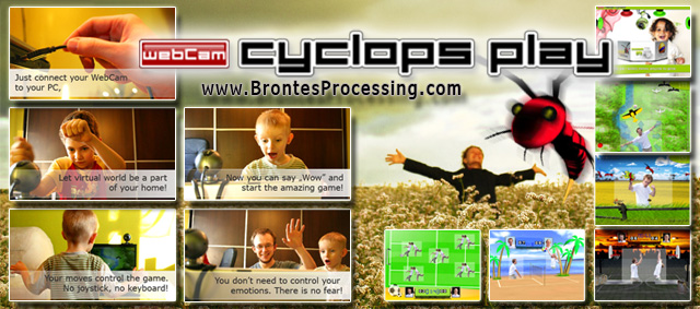 CamGames - WebCam Cyclops PLAY Games Screen shot